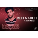 Matthew Daddario Meet & Greet Saturday