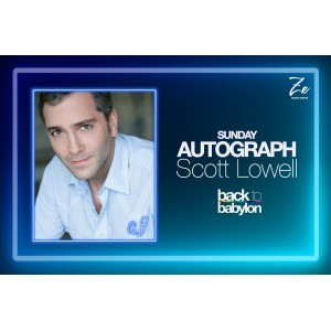 Scott Lowell Autograph Sunday