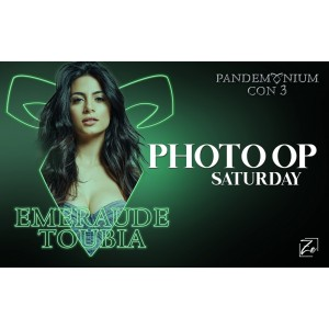Emeraude Toubia Photo Op Saturday