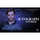 Autograph Dominic Sherwood Saturday
