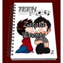 Wolf moon con 2 Sterek kiss appointment book