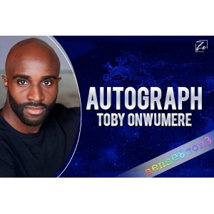 Toby Onwumere Autograph
