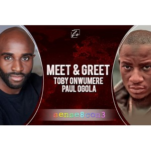 Meet and Greet Paul Ogola and Toby Onwumere