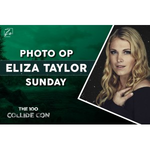 Photo Op Eliza Taylor Domingo