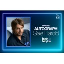 Gale Harold Autograph Sunday